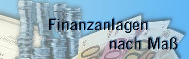 Finanzanlagen nach Maß